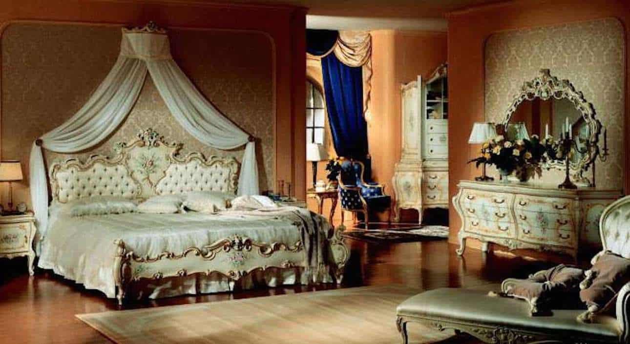 camera-con-arredi-stile-veneziano-min - Bed end Breakfast ...